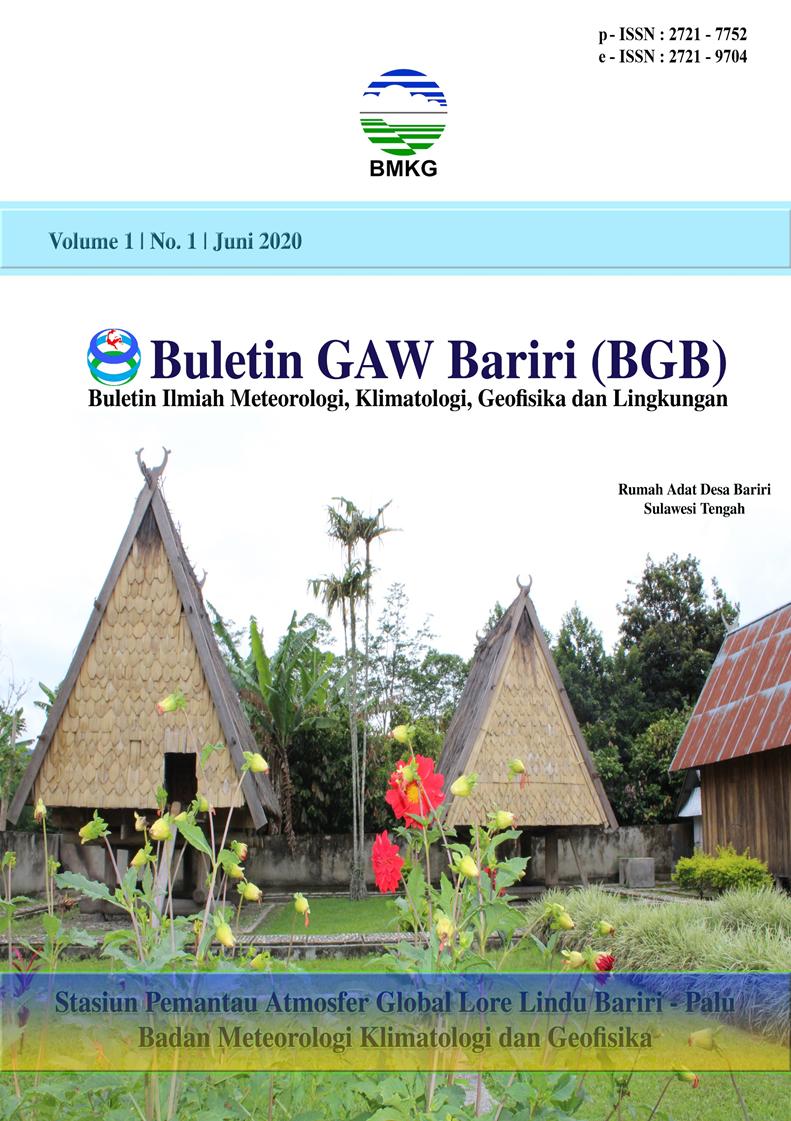Cover BGB Vol 1 No 1